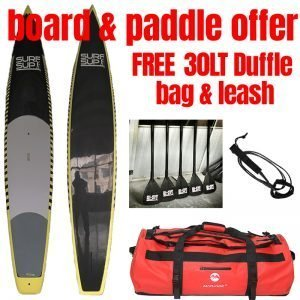 Paddle Board + Paddle Offer